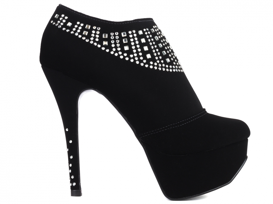 Ankle Boot Meia Pata